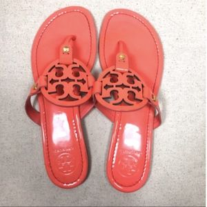 Tory Burch Miller Coral Flip Flop Sandal 9.5